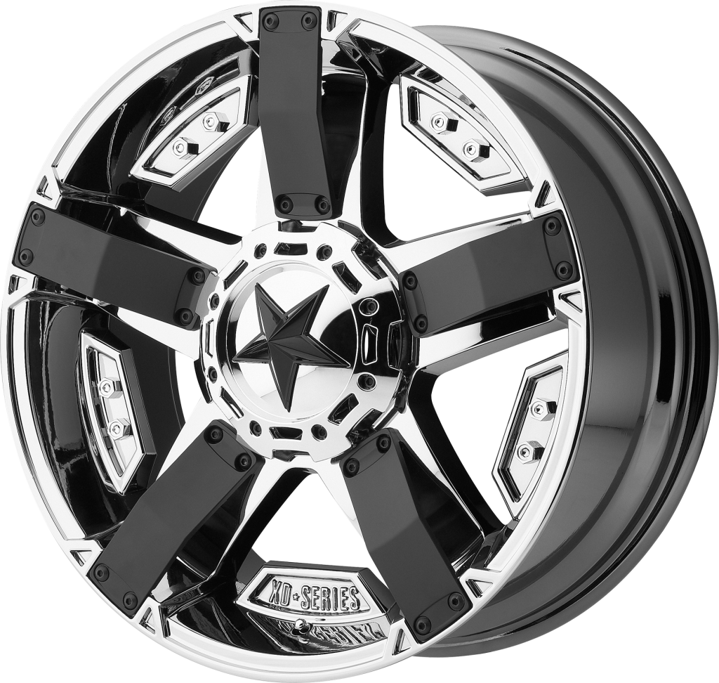 KMC Wheels XD Series  Rockstar Wheel with Matte Black Finish 17x8//6x5.5