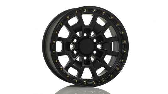 KMC KM718 Satin Black