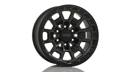 KMC KM718 Satin Black Grey Tint