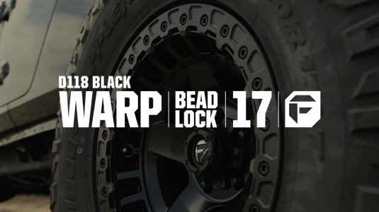 Warp Beadlock Wheel on Jeep Gladiator